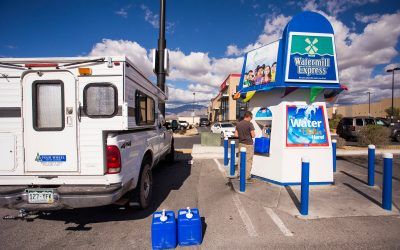One night in Pahrump, NV and what our resupply days our like